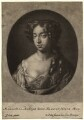 Mary of Modena, by and published by Gerard Valck, after  Sir Peter Lely - NPG D8660