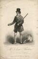 John Isaacs as Hawthorn in Bickerstaff's 'Love in a Village', by John Kennerley, published by  Clement Chapple, after  Thomas Clater - NPG D8685