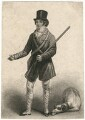 John Isaacs as Hawthorn in Bickerstaff's 'Love in a Village', by John Kennerley, after  Thomas Clater - NPG D8686
