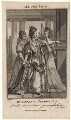 Mary Ann Yates as Cleopatra in Dryden's 'All for Love', by Burnet Reading, after  Edward Edwards - NPG D8817