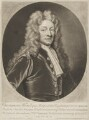 Sir Christopher Wren, by John Smith, after  Sir Godfrey Kneller, Bt - NPG D8827