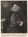Sir John Wynn of Gwydir, 1st Bt, by William Sharp, after  Unknown artist - NPG D8847