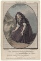 Mary Ann Yates as Volumnia in 'Coriolanus', by John Thornthwaite, published by  John Bell, after  Edward Francisco Burney - NPG D8938