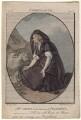 Mary Ann Yates as Volumnia in 'Coriolanus', by John Thornthwaite, after  Edward Francisco Burney - NPG D8939