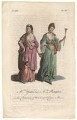 Mary Ann Yates; Frances Abington (née Barton) in the characters of the Tragic and Comic Muses, after Unknown artist - NPG D8958