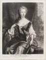 Henrietta Maria Wyvill (née Yarborough), Lady Wyvill, by Isaac Beckett, published by  John Smith, after  Sir Godfrey Kneller, Bt - NPG D11611