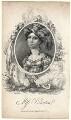 Elizabeth Yates (née Brunton) when Miss Brunton, by James Hopwood Jr, published by  Dean & Munday, after  William Hopwood - NPG D8962