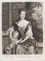 Mary Butler (née Somerset), Duchess of Ormonde and her son Thomas, Earl of Ossory, by and published by John Smith, after  Sir Godfrey Kneller, Bt - NPG D11593