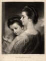 Catherine Bunbury (née Horneck); Mary Gwyn (née Horneck), by Samuel William Reynolds, after  Sir Joshua Reynolds - NPG D913