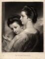 Catherine Bunbury (née Horneck); Mary Gwyn (née Horneck), by Samuel William Reynolds, after  Sir Joshua Reynolds - NPG D913