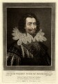 George Villiers, 1st Duke of Buckingham, by Charles Turner, after  Cornelius Johnson - NPG D923