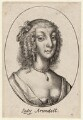 Possibly Aletheia Talbot, Countess of Arundel, by Wenceslaus Hollar - NPG D9599