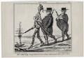 Richard Cobden; Joseph Sturge; John Bright, by Honoré Daumier - NPG D9652