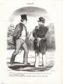 Mr Cabassol, by Honoré Daumier - NPG D9668