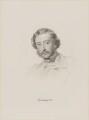 Henry Howard Molyneux Herbert, 4th Earl of Carnarvon, by William Holl Jr, after  George Richmond - NPG D9671