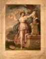 Frances Abington (née Barton), by Francesco Bartolozzi, after  Richard Cosway - NPG D968