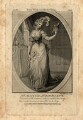 Frances Abington (née Barton), by John Thornthwaite, published by  John Bell, after  Isaac Taylor - NPG D969