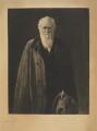 Charles Darwin, by Léopold Flameng, after  John Collier - NPG D9709