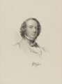 Richard Monckton Milnes, 1st Baron Houghton, by William Holl Jr, after  George Richmond - NPG D9802