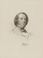 Richard Monckton Milnes, 1st Baron Houghton, by William Holl Jr, after  George Richmond - NPG D9802
