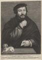 Unknown man called Sir Thomas More, by Lucas Vorsterman, after  (Claude) Corneille de Lyon - NPG D9866