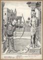 The Die-Hard (Stanley Baldwin, 1st Earl Baldwin; Ramsay MacDonald), by Bernard Partridge - NPG D9879