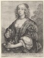 Mary Villiers, Duchess of Richmond and Lennox, by Wenceslaus Hollar, after  Sir Anthony van Dyck - NPG D9918