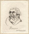 Richard Brinsley Sheridan ('Barrere'), by James Sayers, published by  Hannah Humphrey - NPG D9940