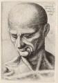 Unknown man, by Wenceslaus Hollar, after  Leonardo da Vinci - NPG D9969