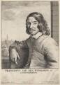 Frans van den Wyngaerde (Wijngaerde), by Wenceslaus Hollar, after  Vincentius Castellanus - NPG D9994
