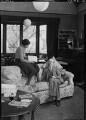 George Douglas Howard Cole; Dame Margaret Isabel Cole, by Howard Coster - NPG x10860