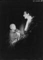 John Gielgud; George Howe, by Howard Coster - NPG x14508