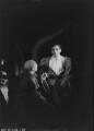 John Gielgud; George Howe, by Howard Coster - NPG x14513