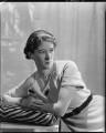 (Winifred Gisela) Yvonne Ffrench, by Howard Coster - NPG x16610