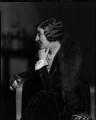 Henry Handel Richardson (Ethel Florence Lindesay Robertson (née Richardson)), by Howard Coster - NPG x24318