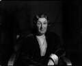 Henry Handel Richardson (Ethel Florence Lindesay Robertson (née Richardson)), by Howard Coster - NPG x24321