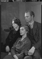 Beatrix Lehmann; Rosamond Nina Lehmann; (Rudolph) John Frederick Lehmann, by Howard Coster - NPG x24889