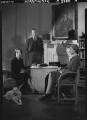 Beatrix Lehmann; (Rudolph) John Frederick Lehmann; Rosamond Nina Lehmann, by Howard Coster - NPG x24890