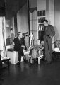 W.H. Auden; Christopher Isherwood; Stephen Spender, by Howard Coster - NPG x2949