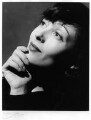 Luise Rainer, by Anthony Buckley - NPG x75900
