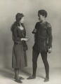 Mary Casson as Wendy; Jean Forbes-Robertson as Peter Pan in 'Peter Pan', by Bassano Ltd - NPG x83057