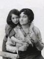 Eva Moore with her daughter Jill Esmond, by Bassano Ltd - NPG x83392