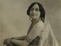 Elsie Forrest (Elsie Caroline (née Thompson), Maharani of Tikari), by Bassano Ltd - NPG x83493