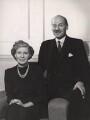 Violet Helen (née Millar), Countess Attlee; Clement Attlee, by Bassano Ltd - NPG x83560