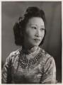 Madame Wellington Koo (née Hui-lan Oei), by Bassano Ltd - NPG x83698