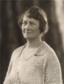 Harriet Anne Dorothy (née Wilson), Lady Milbank, by Bassano Ltd - NPG x83775