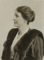 Gwendolen Margaret (née Devitt), Lady MacLean, by Bassano Ltd - NPG x83822