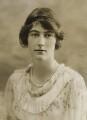 Lady Dorothy Evelyn Macmillan (née Cavendish), by Bassano Ltd - NPG x83834