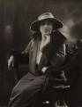 Cissie Parker (née Morris), by Bassano Ltd - NPG x84024