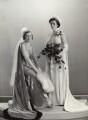 Alexandrina (née von der Heydt), Lady Domvile; Miranda Ferguson (née Domvile), by Bassano Ltd - NPG x84089